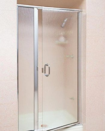 CH1627: Door & panel, bubble glass, chrome (aluminum)