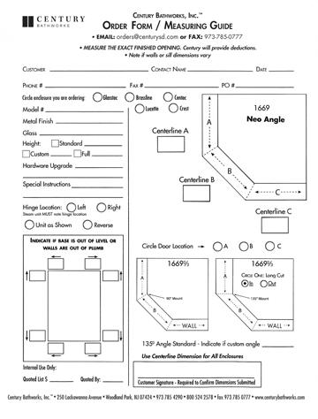 Measuring Guide: Neo Angle